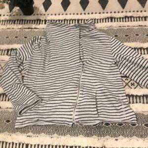 Calvin Klein || Zip-Up stripper Sweater